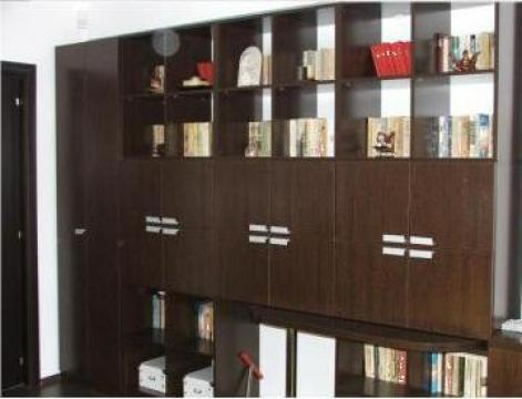 Mobilier biblioteca de la Sc Blackwood Concept Srl