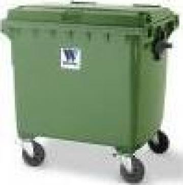 Container cu capac plat 660L-1100 l