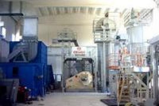 Instalatie producere peleti de la Utilaje Constructii Intercom Srl