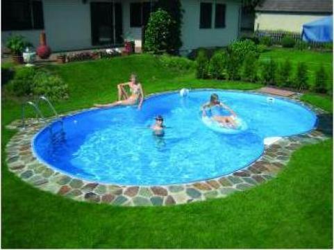 Piscina rotunda din otel Future Pool