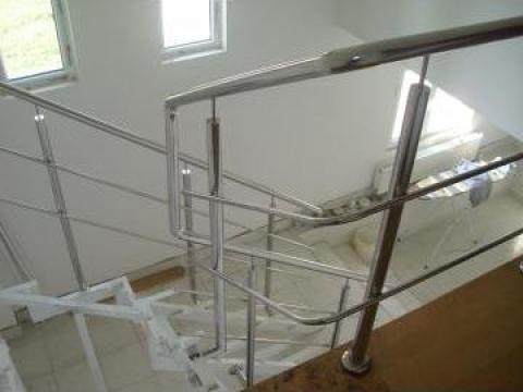 scari interior si balustrada inox timisoara m b inox. Black Bedroom Furniture Sets. Home Design Ideas