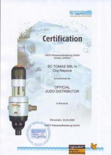 Sisteme Filtrare si tratare apa Judo Wasseraufbereitung de la Tomas Prodimpex Srl.