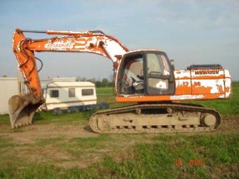 Excavator pe senile Doosan DX 255 LC de la Sim Utilaj Construct