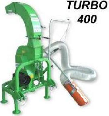 Echipament aspirat stradal Turbo 400 tractor