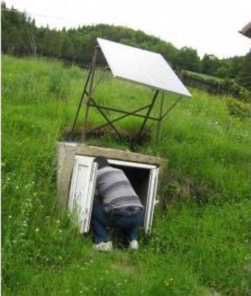 Sistem fotovoltaic pentru alimentare case de vacanta de la Ecovolt