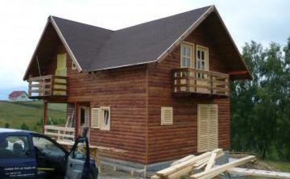 Cabana din lemn de la Csata Em-jen Construct Srl
