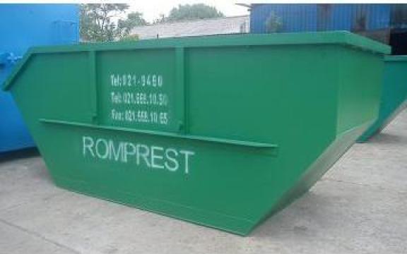 Container Skip 7 mc pentru gunoi industrial de la Lucimet Prod Srl