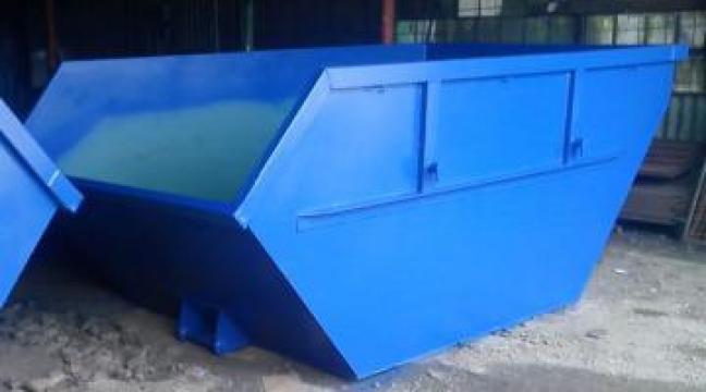Container Skip 5.5 mc deseuri usoare sau hartie, albastru de la Lucimet Prod Srl