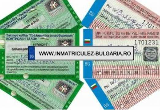 Intermedieri acte auto si procuri de Bulgaria de la Inmatriculez-bulgaria.ro