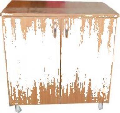 Dulap de baza bucatarie doua usi si polita 80 cm
