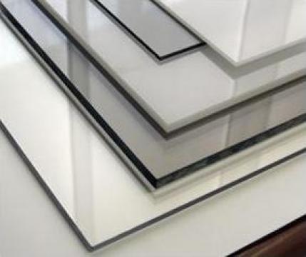 Placi policarbonat compact transparent 1mm