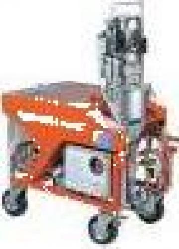 Masina tencuiala mecanizata mixer de la All Seasons Advertising Srl