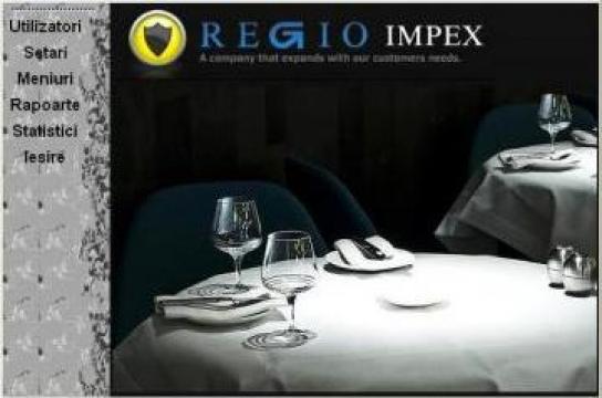 Software Sistem gestiune restaurante si hoteluri de la Regio Impex Srl