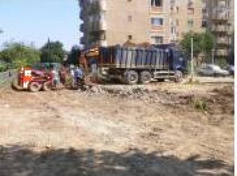 Lucrari drumuri amenajari exterioare de la A&C Construct 2001 Srl