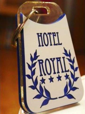 Breloc hotelier HTL01 de la Gravoshop