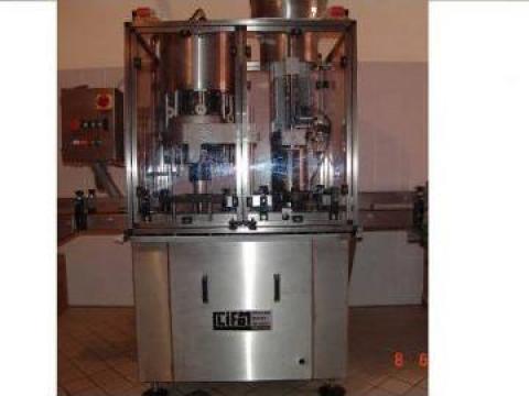 Masina monobloc de umplere, dopuire vin de la Tehnosincron