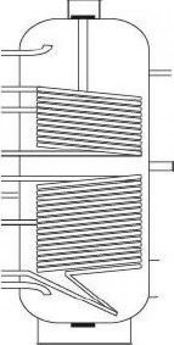 Boiler bivalent de la Solar Instal