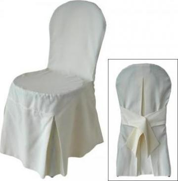 Husa pentru scaun cu spatar rotund din diverse materiale