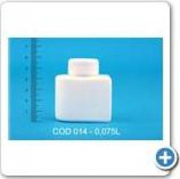 Flacon din polietilena sau polipropilena 0,125 l de la Vanmar Impex Srl