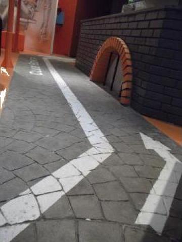 Beton amprentat decorativ de la Sc Pavik Streets Srl