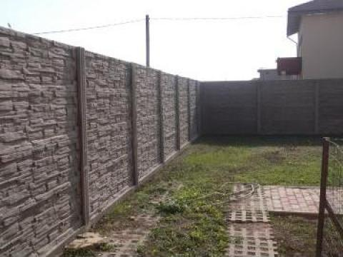 Gard din placi de beton de la Trionet Srl
