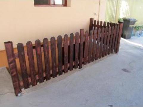 Gard lemn de la Tamwood Srl