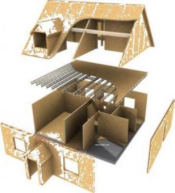 Case din lemn, case cu OSB de la T. N. Case Srl