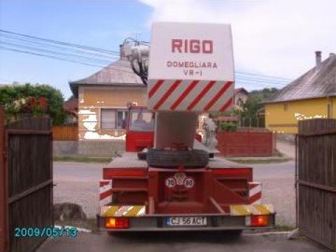 Macara de 30 tf Rigo Italia
