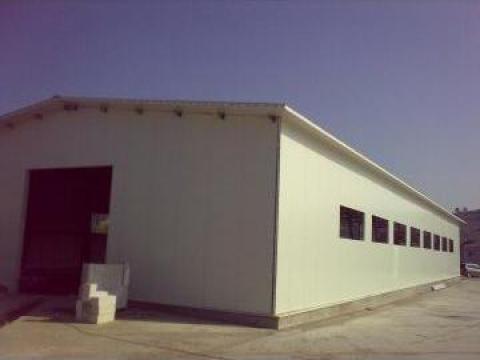 Hala metalica 570 mp 12,6x45x4m Bucuresti de la Rovi Metalbau