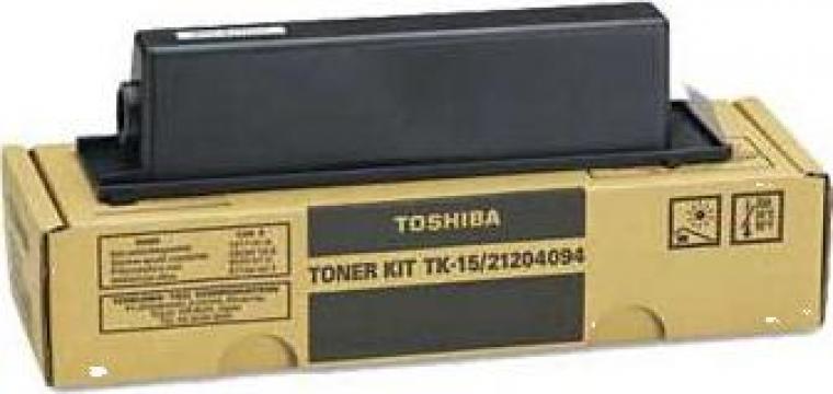 Cartus copiator original Toshiba TK15 de la Green Toner
