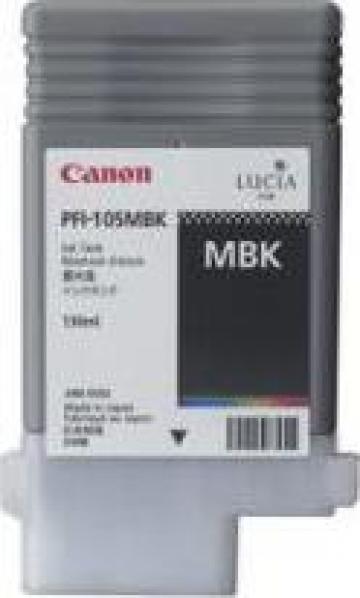 Cartus Imprimanta Cerneala Original Canon PFI-105MBK de la Green Toner