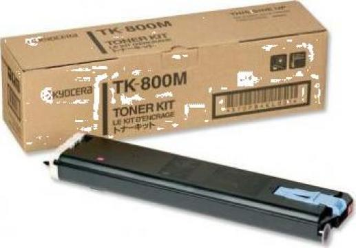 Cartus Imprimanta Laser Original KYOCERA TK-800M de la Green Toner
