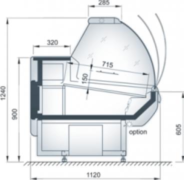 Vitrina frigorifica Grazia de la Jbg - 2 Cooling Systems Srl