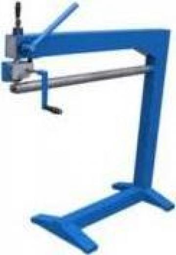 Masina de presat lacat burlane ZL-1A (1000/2000 x 0,8 mm)