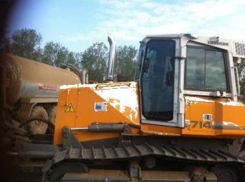 Inchiriere buldozer Liebherr PR714XL de la S.C. Construct Maitrei S.R.L.
