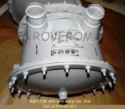 Racitor apa-apa motor D6; 3D6