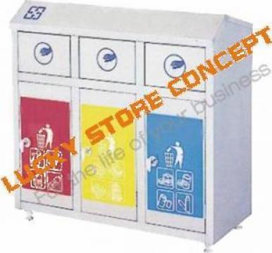 Cosuri gunoi inox B2633 de la Lucky Store Solution SRL