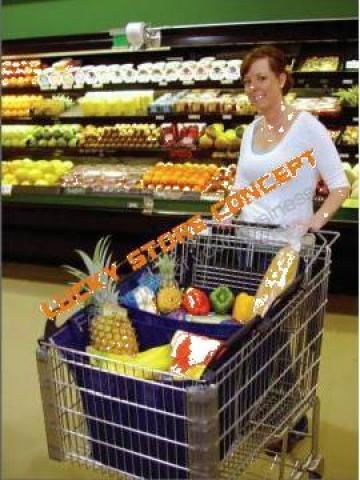 Sacosa carucior hypermarket
