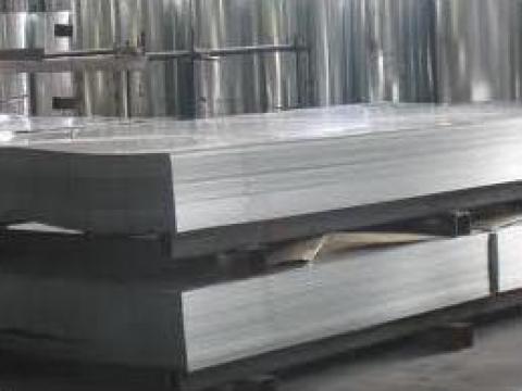 Tabla zincata lisa dreapta 0,45 de la Dinamic Blue Steel