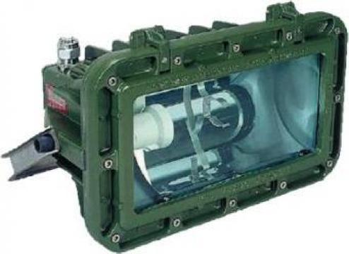 Proiector antiex Italsmea 400W, HG, presetupa metalica EX II de la Luf- Cad Electric