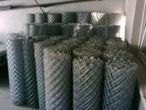 Plasa gard zincata 40x40