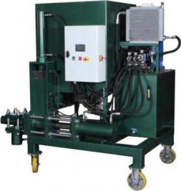 Presa bricheti hidraulica 500 kg/h