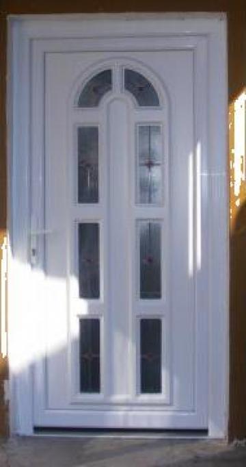 Usi exterior din PVC Salamander de la Chrismark Company 2004 Srl