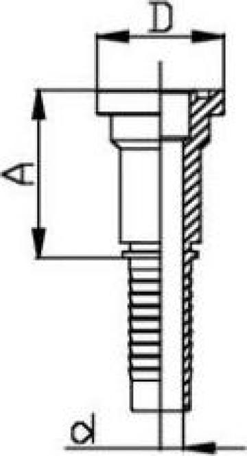 Flansa Hidraulica dreapta de la Trade Est S.r.l.