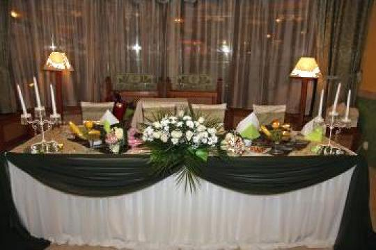 Decoratiuni Salon Nunti Botezuri Pachet 100 Pers Ploiesti