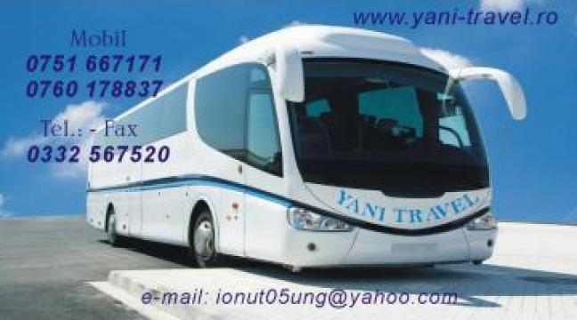 Bilete autocar pe ruta Bacau Anglia de la Yani Travel SRL