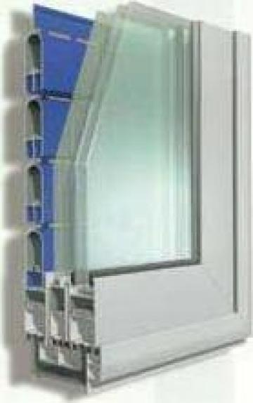 Culisanta aluminiu cu geam termopan