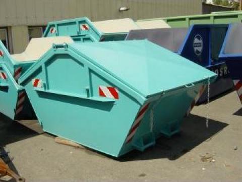 Containere deseuri menajere Skip 10 mc de la Elkoplast Romania Srl.