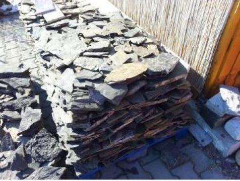 Piatra naturala ardezie sau bazalt de placat de la Sc Prelis Srl