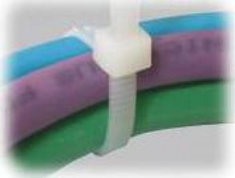 Coliere plastic albe sau naturale 4,8 x 360